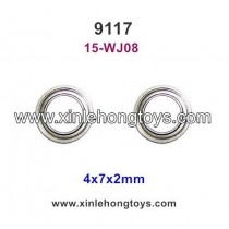 XinleHong Toys 9117 Parts Bearing 4x7x2mm 15-WJ08