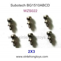 Subotech BG1510A BG1510B BG1510C BG1510D Parts Ball Screw WZS022 2X3
