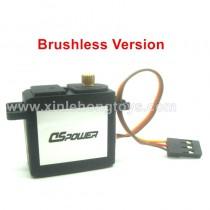 XLF X05 brushless servo, rudder