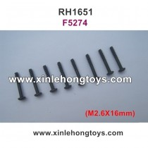 REMO HOBBY 1651 Parts Screws F5274