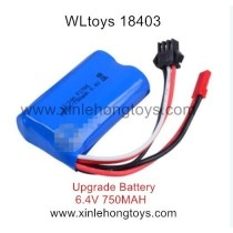 WLtoys 18403 Parts Upgrade Battery 6.4V 750mAh