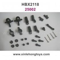 HaiBoXing HBX 2118 Parts Shocks Assembly+Steering Hubs+Rear Uprights 25002