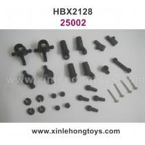 HBX 2128 Parts Shocks Assembly+Steering Hubs+Rear Uprights 25002