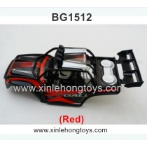 Subotech BG1512 Parts Body Shell, Car Shell (Red)