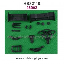 HaiBoXing HBX 2118 Parts Body Posts+Bumpers+Wings 25003