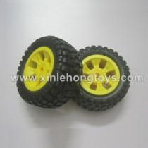 PXtoys 9903 Double-Sided Stunt Car Parts Tire, Wheel