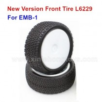LC Racing emb-1 Parts Front Tire L6229