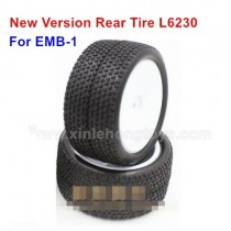 LC Racing emb-1 Parts Upgrade Rear Tire L6230
