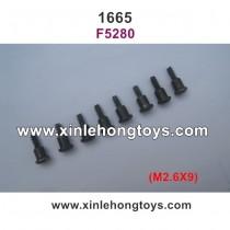 REMO HOBBY Sevor 1665 Parts Screws F5280