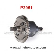 REMO HOBBY 1021 9EMU Differential Gear Assembly P2951