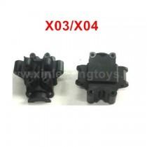 XLF X03 X04 Spare Parts Front Transmission Housing Components C12015+C12016