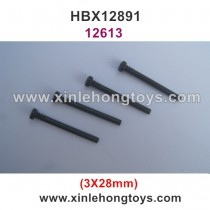 HBX 12891 Parts Front Upper Suspension Pins 12613