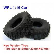 WPL B36 Tire, Wheel