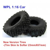 WPL C24 Tire, Wheel