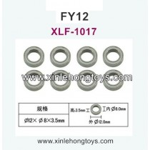 FeiYue FY12 Parts Bearing 8X12X3.5 XLF-1017