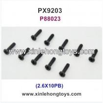 PXtoys 9203E Parts Screw P88023 2.6X10PB