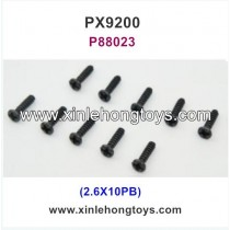 PXtoys 9200 Parts Screw P88023 2.6X10PB