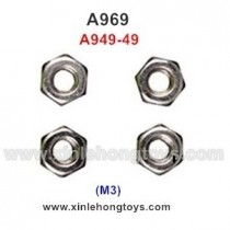 WLtoys A969 Parts M3 Locknut A949-49