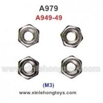 WLtoys A979 Parts M3 Locknut A949-49