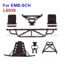 LC Racing EMB-SCH Parts Front And Rear Anti-Collision Set L6039