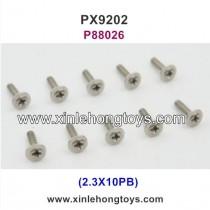 PXtoys 9202 Parts Screw P88026 2.3X10PB