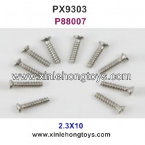 Pxtoys 9303 Parts 2.3X10 Round Head Screw P88007