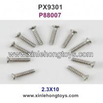 Pxtoys 9301 Parts 2.3X10 Round Head Screw P88007