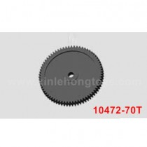 VRX RH1050 MC31 parts Spur Gear 10472-70T