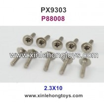 Pxtoys 9303 Parts 2.3X10 Cup Head Screw P88008