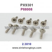 Pxtoys 9301 Parts 2.3X10 Cup Head Screw P88008