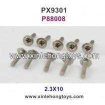 Pxtoys 9301 Parts 2.3X10 Cup Head Screw P88008