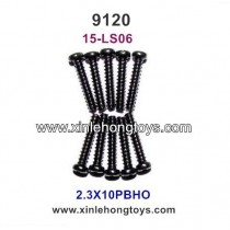 XinleHong Toys 9120 Parts Round Headed Screw 15-LS06 (2.3X10PBHO)