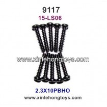 XinleHong Toys 9117 Parts Round Headed Screw 15-LS06 (2.3X10PBHO)