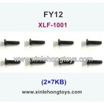 FeiYue FY12 Parts Screw 2×7KB XLF-1001