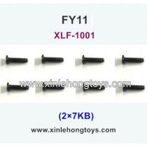 FeiYue FY11 Parts Screw 2×7KB XLF-1001