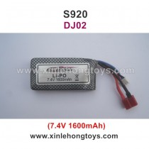 GPToys Judge S920 Battery 7.4V 1600mAh DJ02