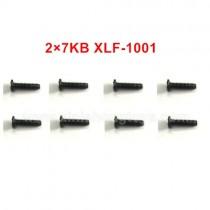 XLF X03 X04 Parts Screw 2×7KB XLF-1001