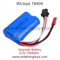WLtoys 18404 Parts Upgrade Battery 6.4V 750mAh