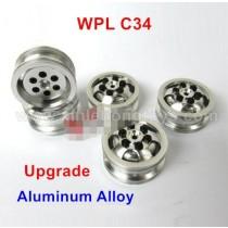 WPL C34 Upgrade Aluminum Alloy Wheels