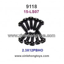 XinleHong Toys 9118 Parts Round Headed Screw 15-LS07 (2.3X12PBHO)