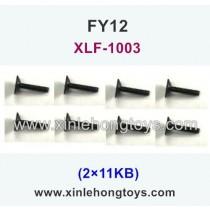 FeiYue FY12 Spare Parts Screw 2×11KB XLF-1003