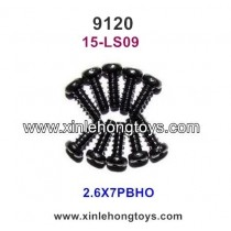 XinleHong Toys 9120 Parts Round Headed Screw 15-LS09