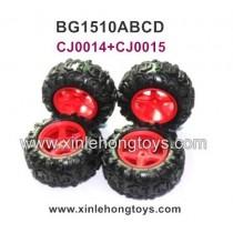 Subotech BG1510A BG1510B BG1510C BG1510D Parts Tire, Wheel CJ0014+CJ0015