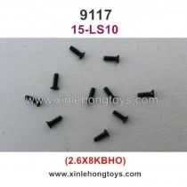 XinleHong Toys 9117 Parts Countersunk Head Screw 15-LS10