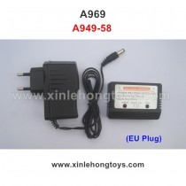 WLtoys A969 Charger A949-58 EU Plug