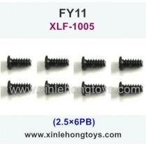 FeiYue FY11 Parts Screw 2.5×6PB XLF-1005