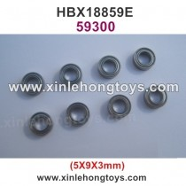 HBX 18859E Rampage Parts Ball Bearing 59300 5x9x3mm(8P)