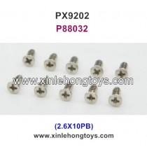 PXtoys 9202 Parts Screw P88032 2.6X10PB
