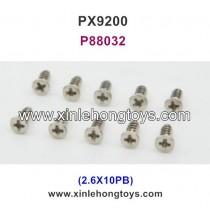 PXtoys 9200 Parts Screw P88032 2.6X10PB