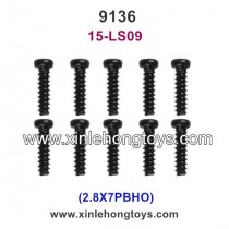 XinleHong Toys 9136 Parts Screw 15-LS09